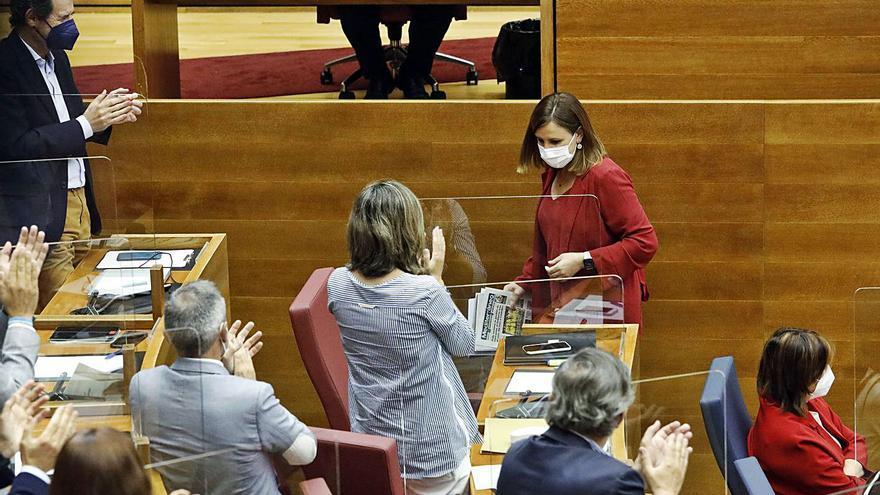 Catalá debuta con un discurso duro y pide adelantar elecciones