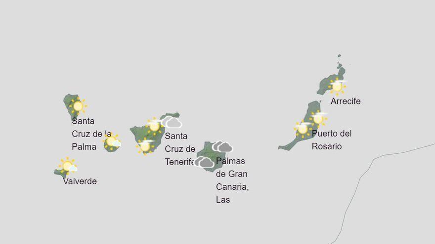 Remite la calima en Canarias