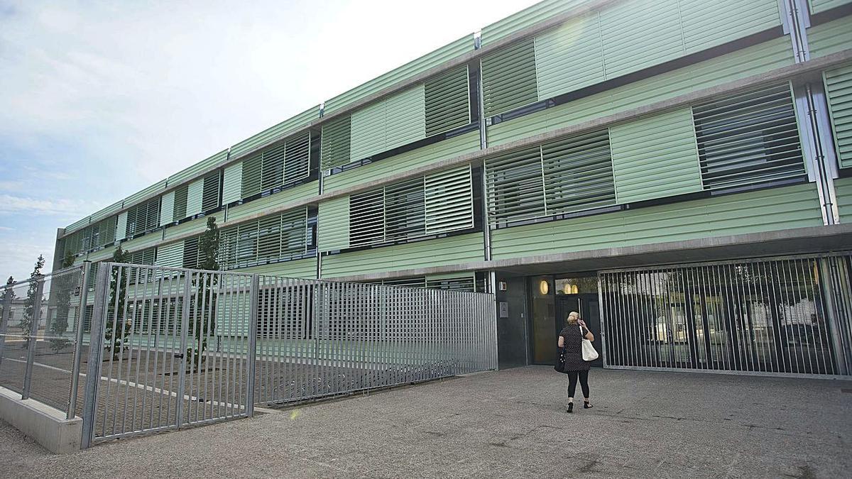 El nou edifici de l'Institut de Vilablareix, estrenat aquest curs. | MARC MARTÍ
