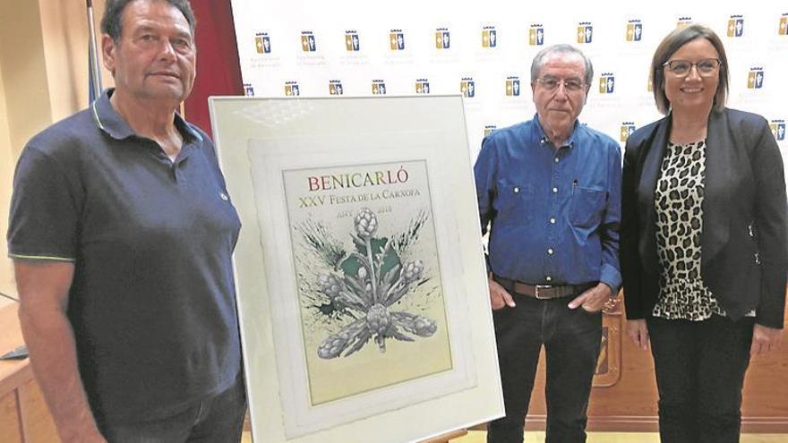 El artista internacional Manuel Boix ilustra la 25ª Fiesta de la Alcachofa