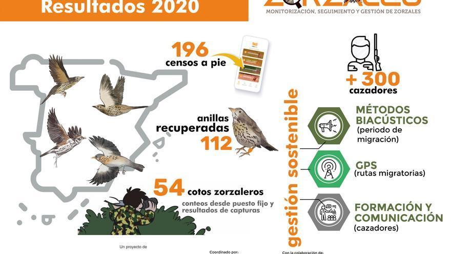 El Proyecto Zorzales busca cazadores valencianos comprometidos con la especie