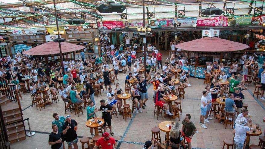 Fußball-EM 2021 an der Playa de Palma
