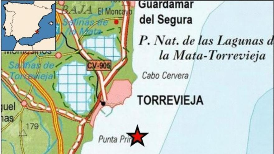 Un nuevo terremoto de magnitud 1,4 se siente en el litoral de la Vega Baja
