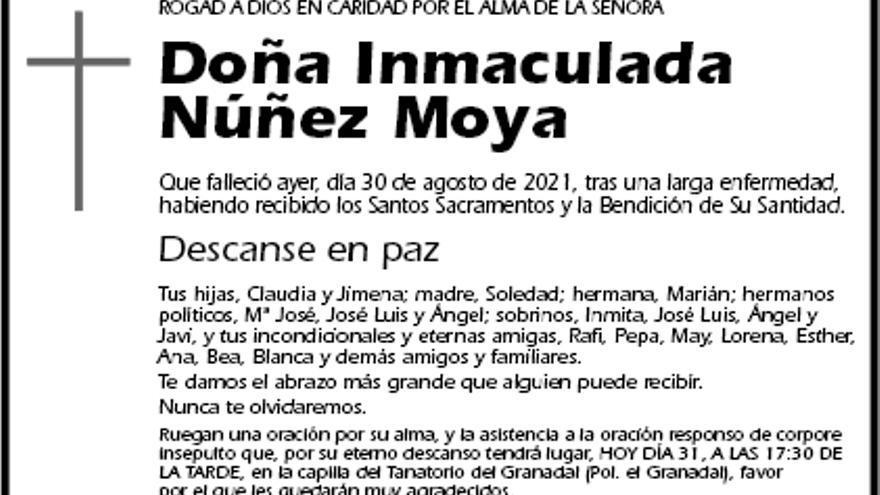 Inmaculada Núñez Moya
