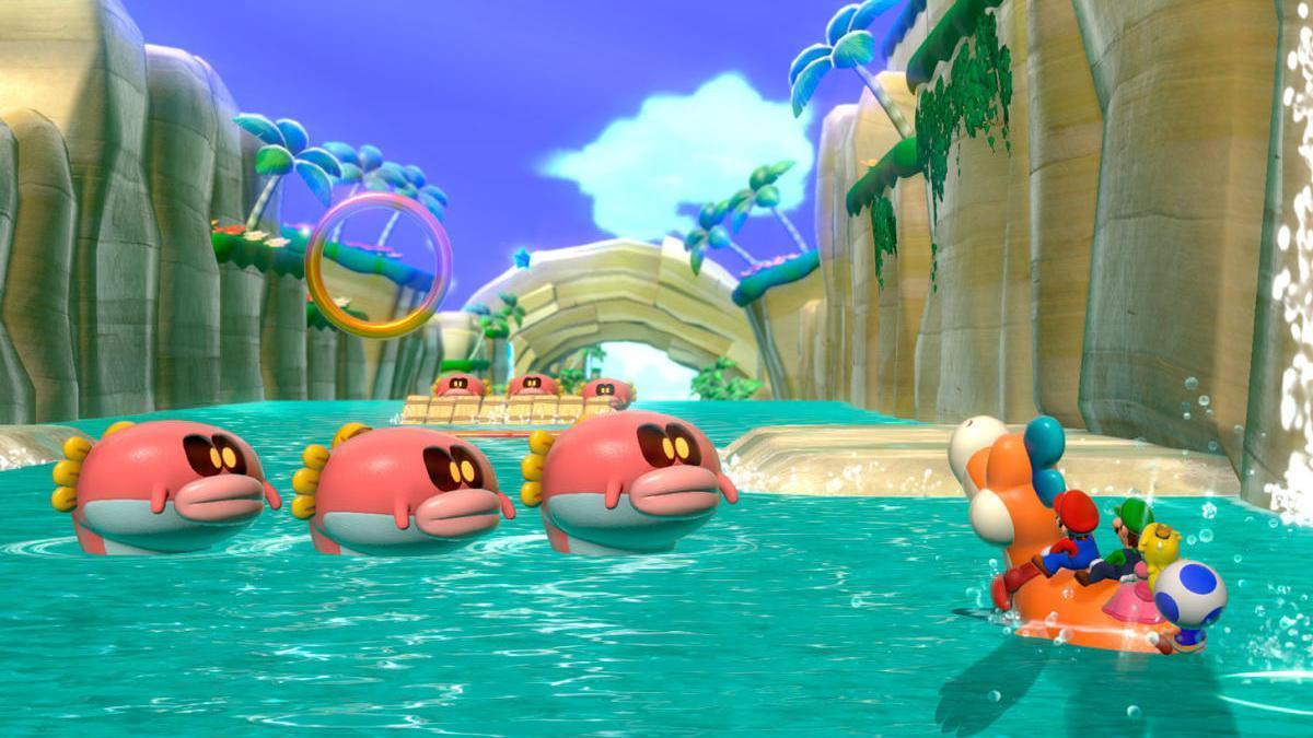 Una imagen de 'Super Mario 3D World + Bowser's Fury'.