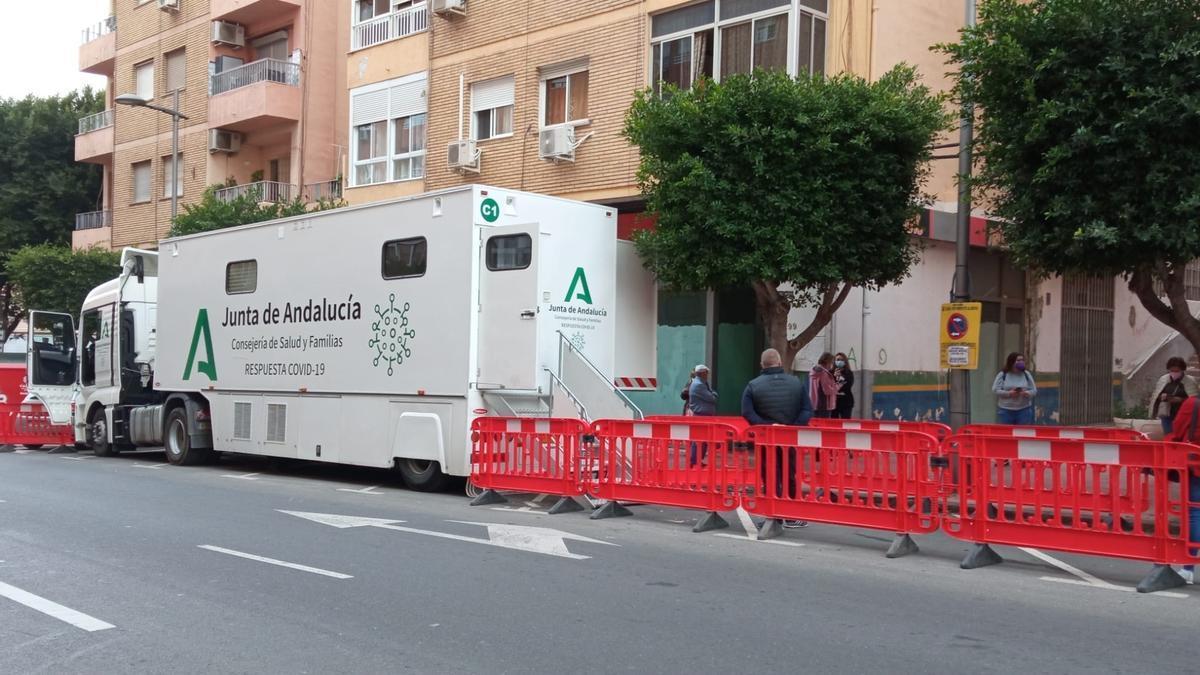 Imagen de una calle de Almería.