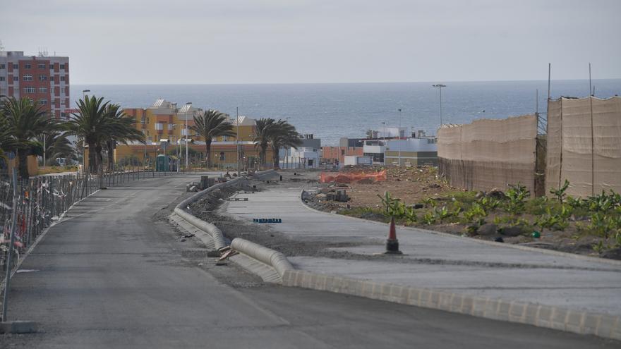 Telde adjudica la reanudación de la obra de la vía de Melenara a Lopesan