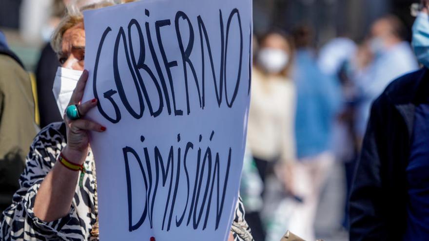 """""""Actos descentralizados"""" en Madrid sustituyen la marcha contra la gestión de Ayuso"""