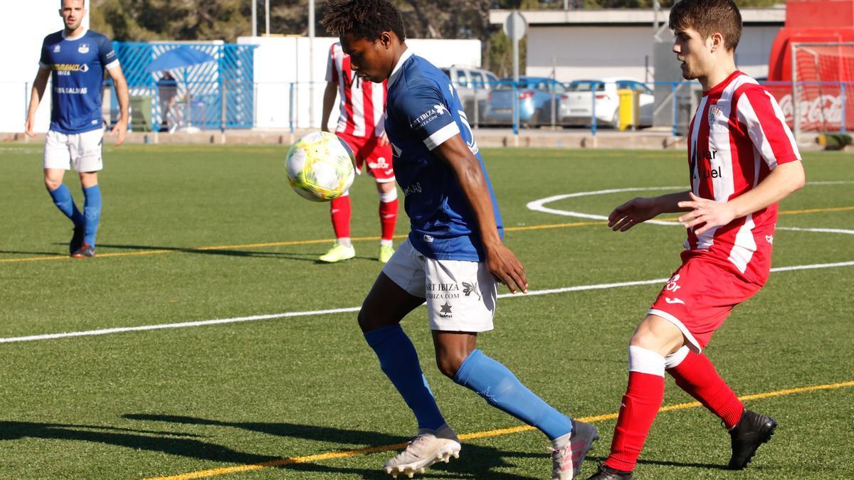 Ndao, nuevo jugador del PE Sant Jordi, en una imagen como jugador del Sant Rafel.
