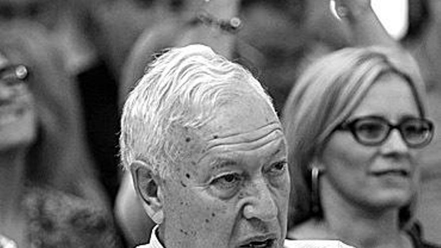 """García Margallo: """"Pondré la bandera en el Peñón antes de lo que Picardo cree"""""""