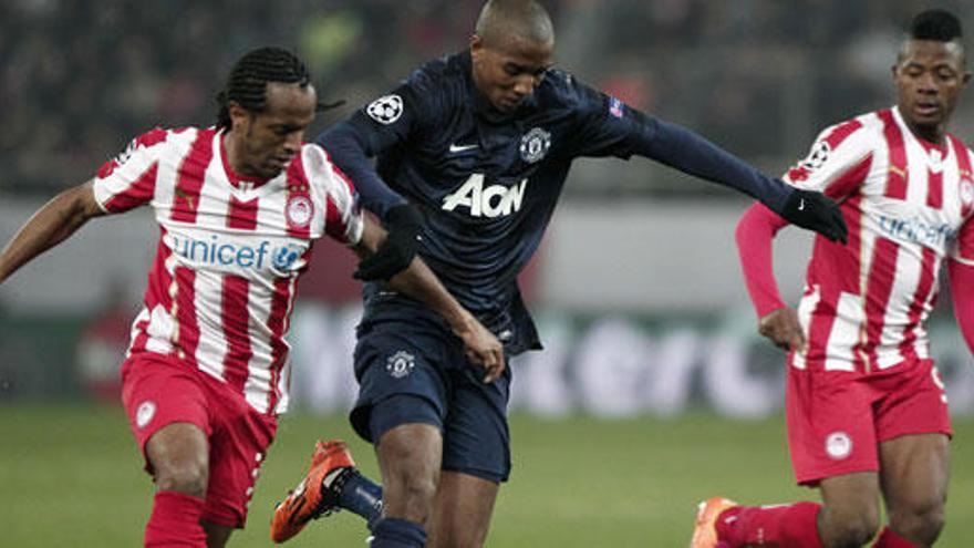 El Olympiakos da la sorpresa y gana al Manchester United