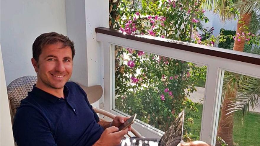 El suscriptor número mil, un belga amante de Ibiza