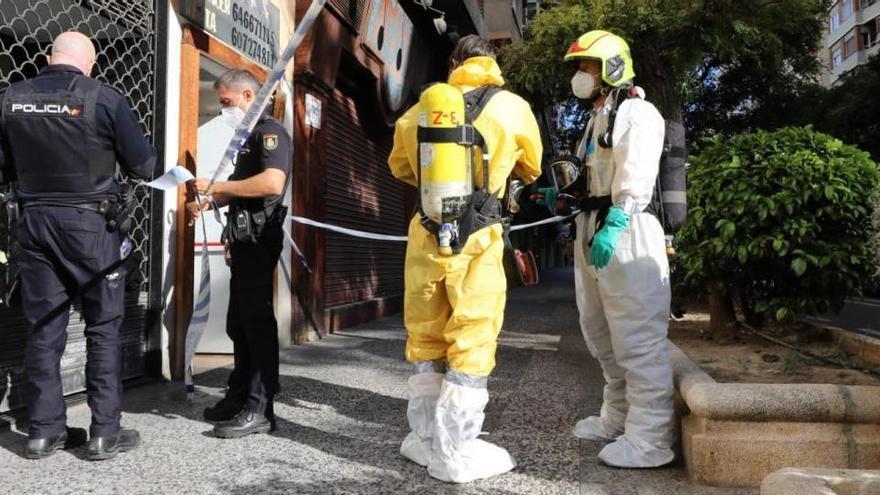 Hallado un cadáver en estado de descomposición en un trastero de Zaragoza