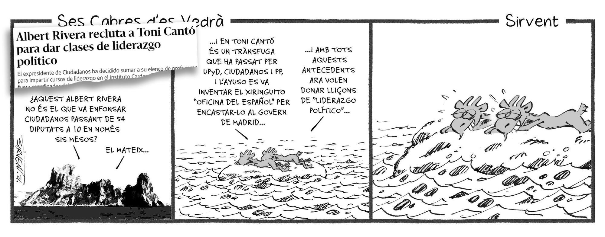 Ses Cabres d'es Vedrà (19 de septiembre)