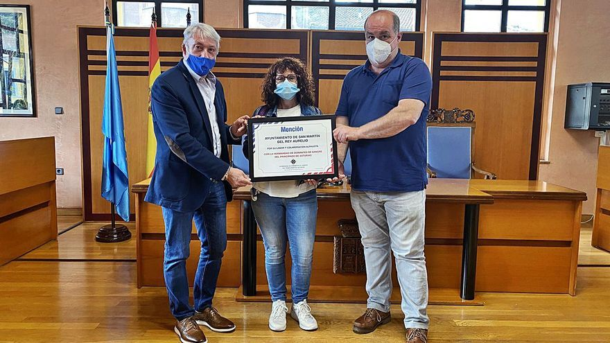 La Hermandad de Donantes premia a San Martín por su ayuda en las campañas