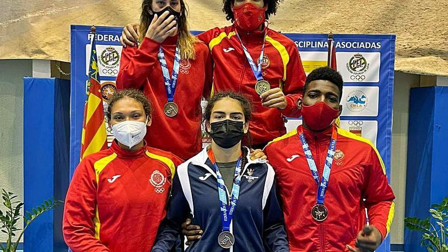 Seis medallas baleares en el Torneo Internacional de Murcia