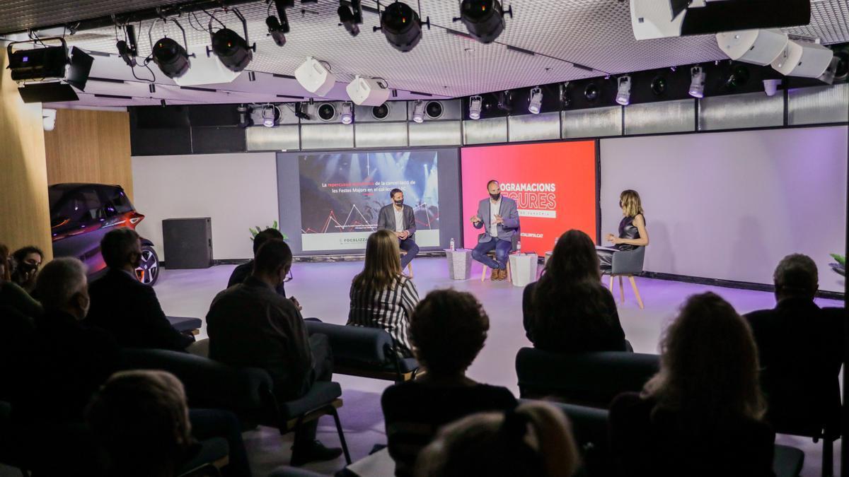 Un moment de la presentació de l'estudi d'ARC