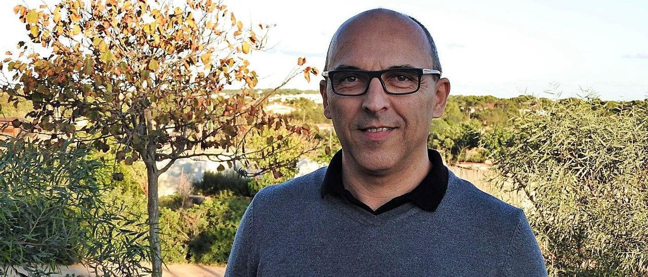 El empresario Juanma Costa, presidente de los hoteleros de Formentera | C.C.