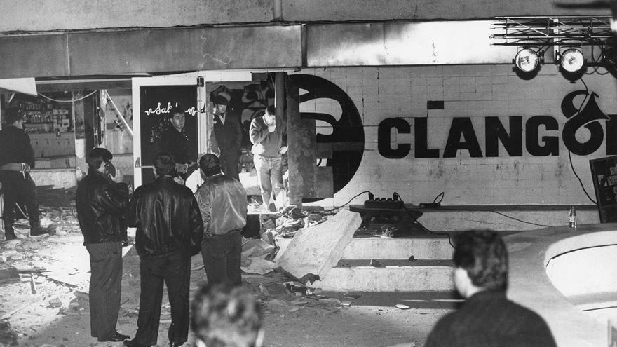 Atentado contra la discoteca Clangor en octubre de 1990