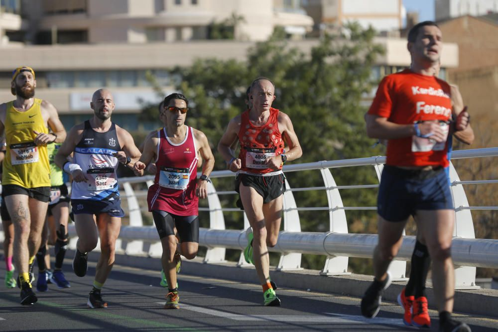 Las mejores imágenes del Maratón Valencia 2019