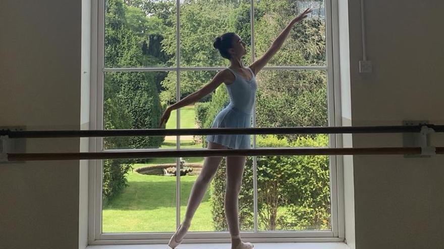 La santpedorenca Berta Piedra posa un peu al Royal Ballet