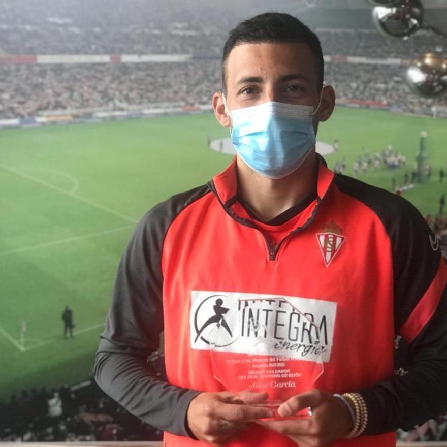 M�ximo goleador del Sporting. Aitor Garc�a.jpg
