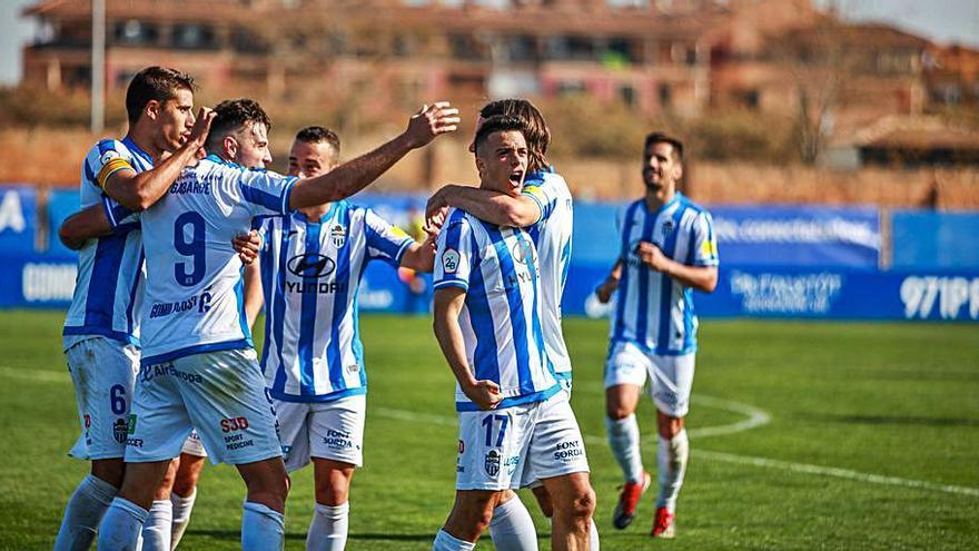 El extremo del Atlético Baleares Alberto Gil será baja de 2 a 3 meses