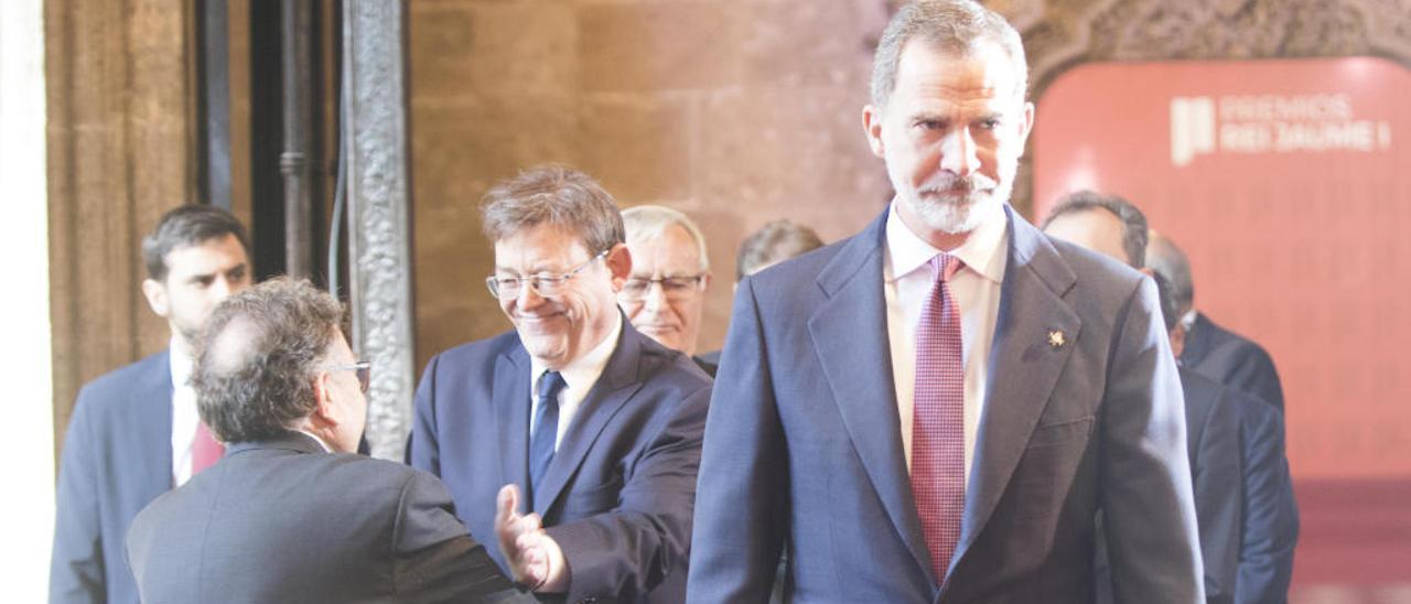 El Botànic ve muy grave la actuación de Juan Carlos I pero discrepa sobre investigarlo