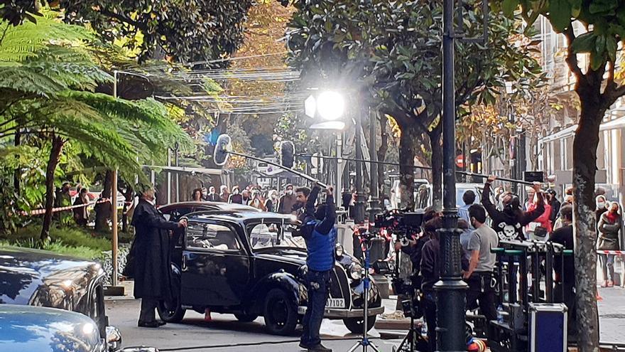 Refuerzo gallego para el reparto de la serie que Amazon rodó en Vigo