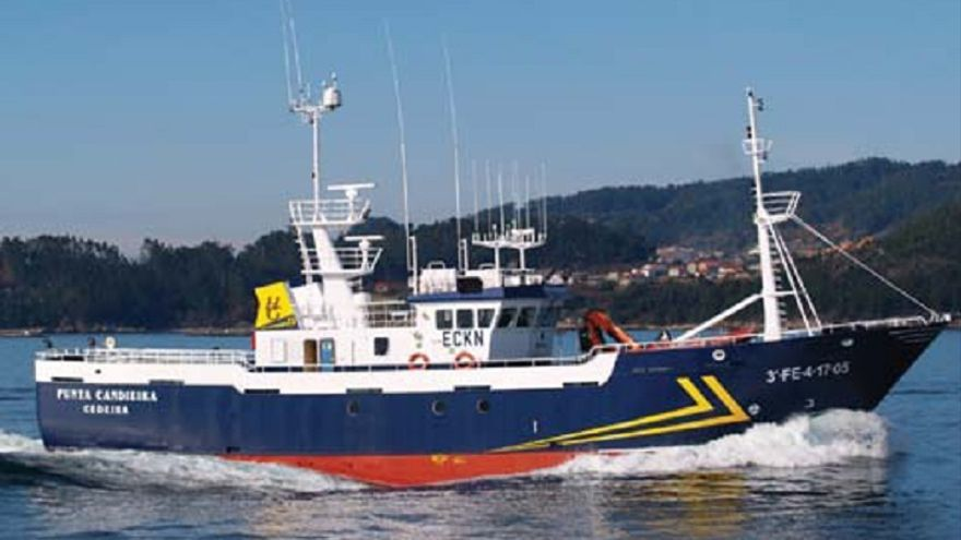 Irlanda libera el pesquero gallego 'Punta Candieira' tras dos semanas retenido