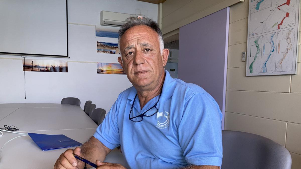 Antoni Abad, el president de la Confraria de Pescadors de Roses