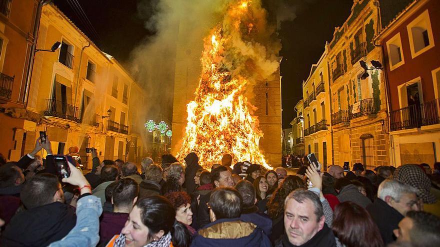 Ni actos simbólicos a Sant Antoni en Canals
