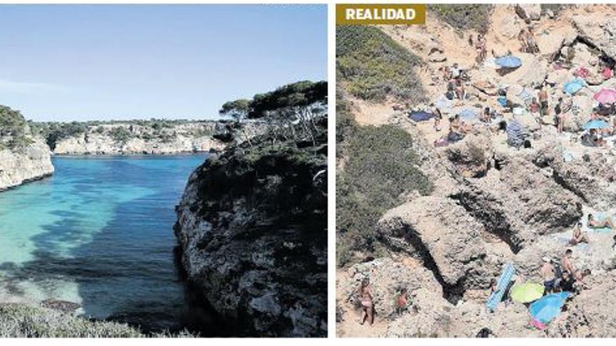 El 'postureo' en las redes sociales arrasa con el paraje natural de Mallorca