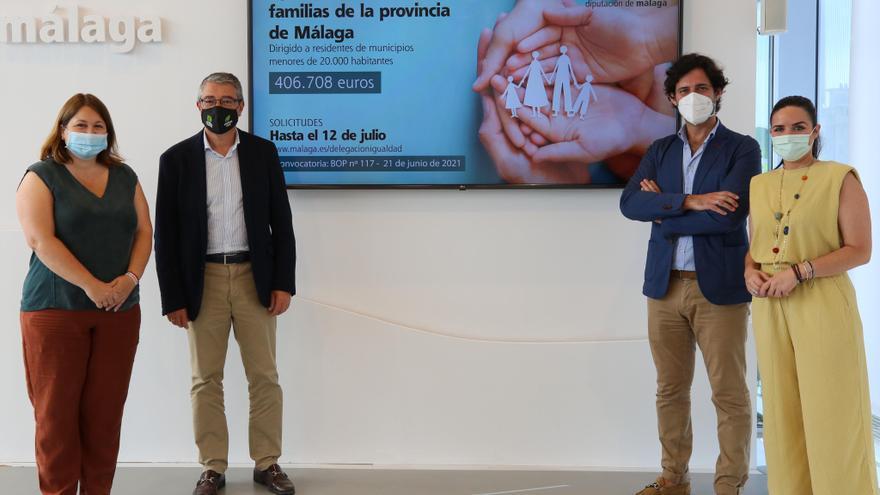 La Diputación destina 1,2 millones de euros para atender a familias afectadas por la pandemia