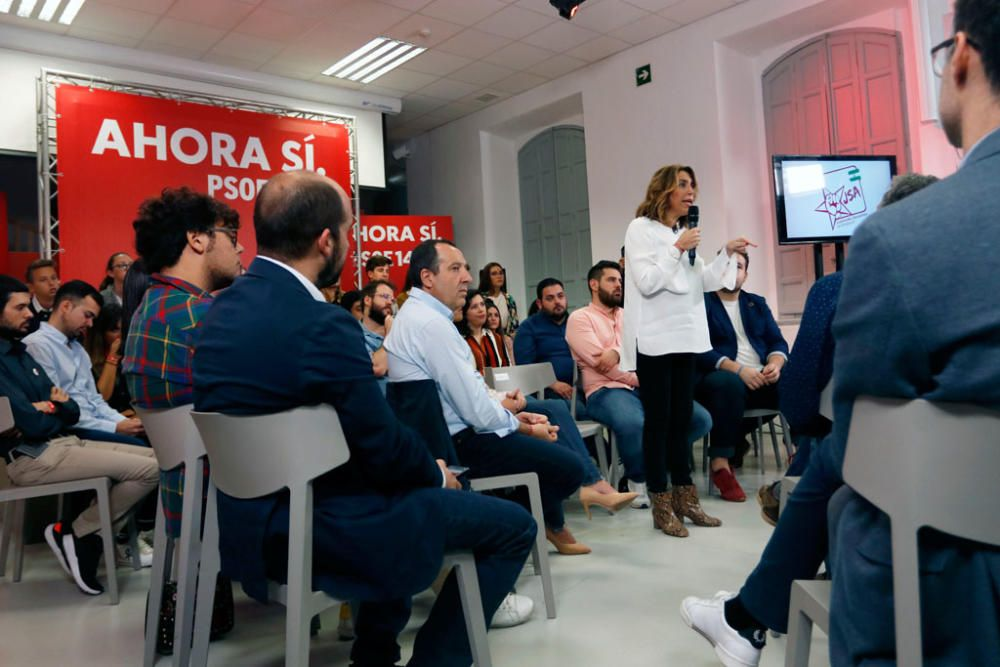 Susana Díaz en La Térmica