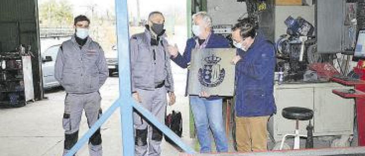 El Ayuntamiento de Villafranca impulsa la industria local a través de las obras urbanas