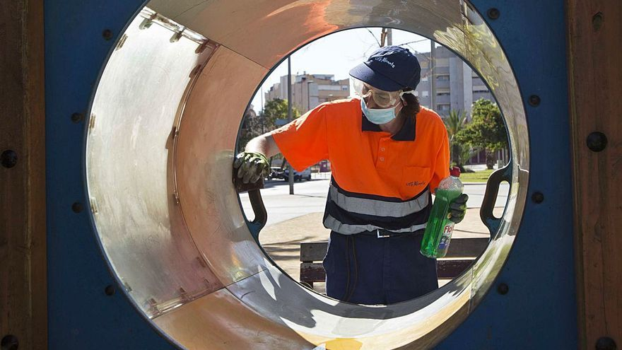 UTE Alicante defiende que para mejorar la limpieza en la ciudad hay que aumentar los recursos