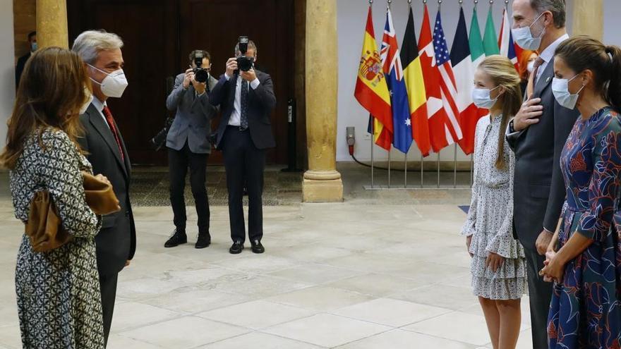 Así fue la recepción a los premiados y los patronos esta mañana en el Hotel de la Reconquista