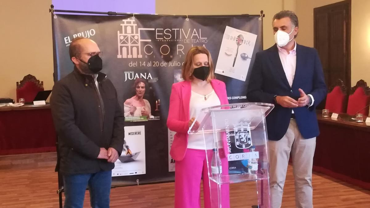 El Festival Internacional de Teatro de Coria traerá siete obras en julio