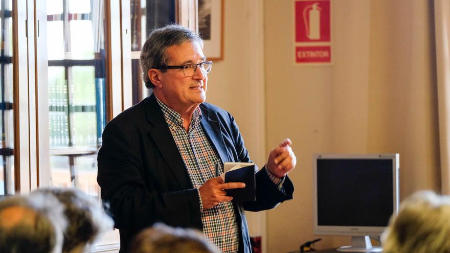 Joan Armangué fa una xerrada sobre la força transformadora de l'estació intermodal