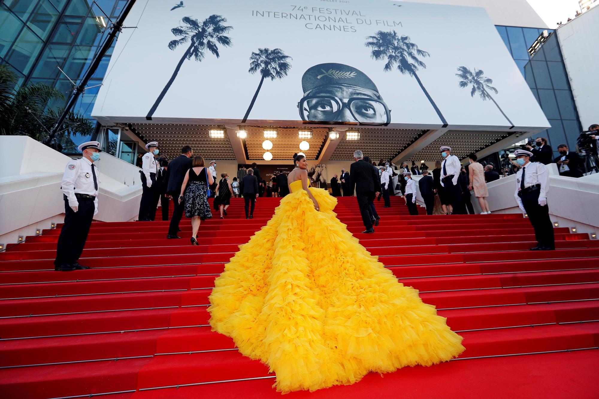Alfombra roja de la 74ª edición del Festival de Cine de Cannes