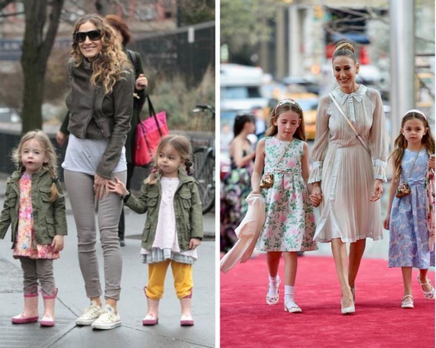 Las gemelas de Sarah Jessica Parker y Matthew Broderick.