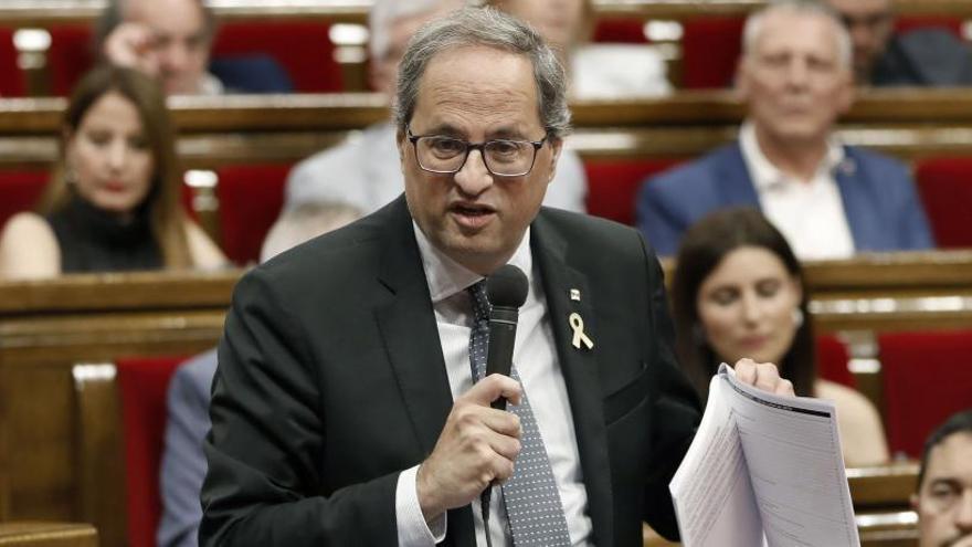 """Torra exige la dimisión de Borrell por el """"escándalo"""" del """"espionaje"""""""