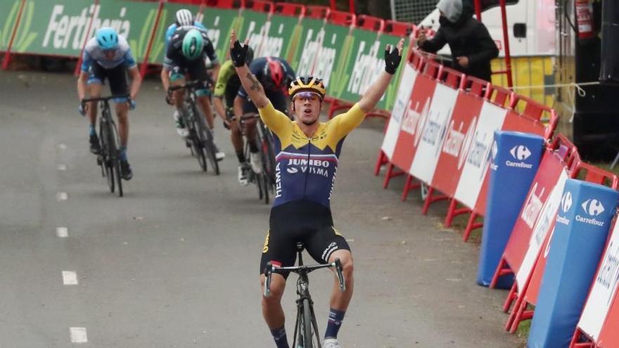 Ganador de la etapa 1 de la Vuelta 2020: Primoz Roglic