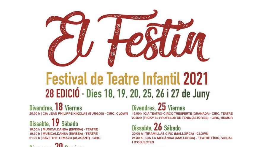 8a edició del Festival de Teatre Infantil de Sant Josep: Cia. La Mecánica