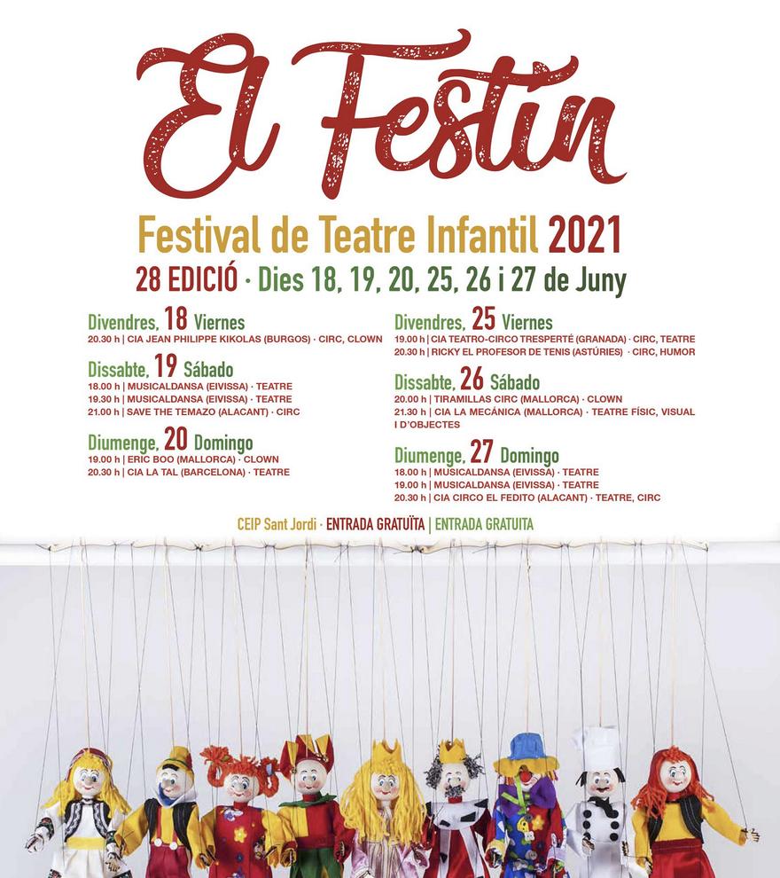 28a edició del Festival de Teatre Infantil de Sant Josep: Ricky el Profesor de Tenis