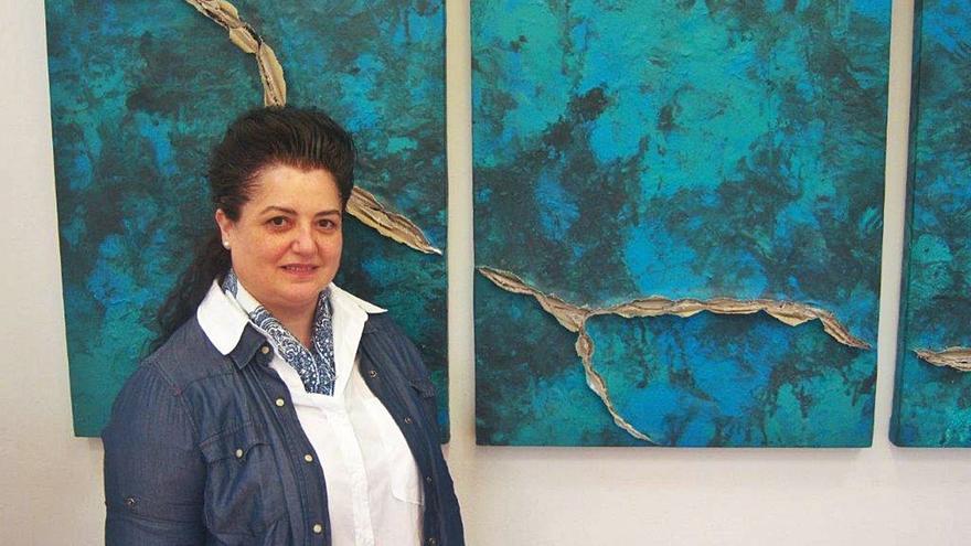 Josefina Torres indaga en la grieta del covid en Garden Art