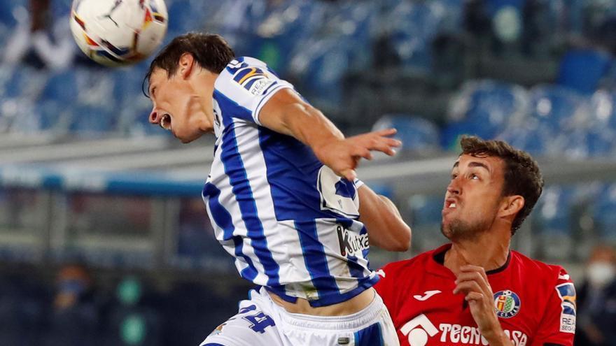 La Real Sociedad golea para acabar con el maleficio contra el Getafe en casa