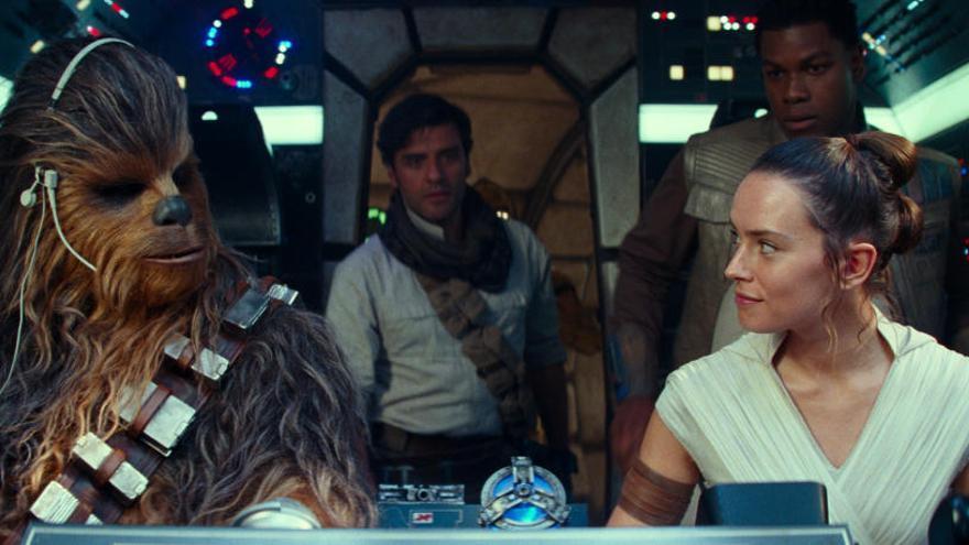 «Star Wars» continua manant a la taquilla espanyola després de Nadal