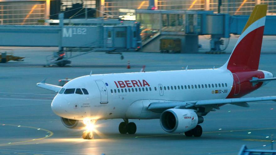 Iberia suspende su único vuelo con China